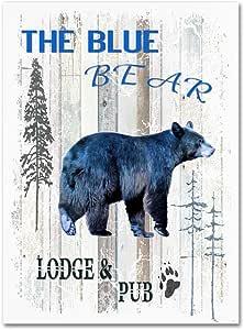 Trademark Fine Art The Blue Bear LightBoxJournal 出品 24x32 ALI10335-C2432GG