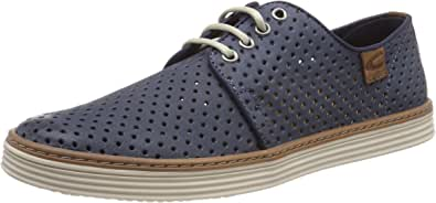 camel active 男士Copa 29 Derbys Blau (Denim 2) 45 EU