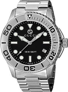 [古驰]GUCCI 腕表 潜水员 黑色表盘 YA126277 男士
