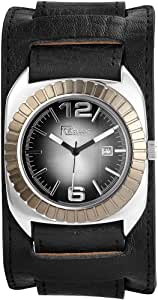 Raptor 男士手表,真皮表带 297921000025