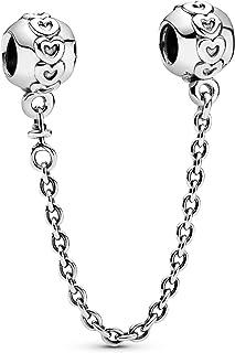 Pandora 潘多拉 Love安全链 银色 女款 791088-05