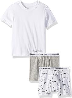 Calvin Klein 男童两件套三角裤和 T 恤,