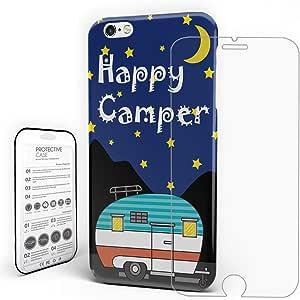 iPhone 手机壳个性化保护设计耐用硬质 PC 材料后纤薄手机壳带钢化玻璃屏幕保护膜HZY0615Rocking-TK-CRY-1472-5 iPhone X 多种颜色-5