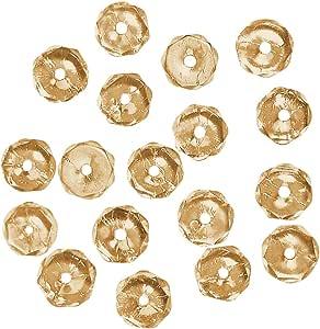 Rayher 14202308 玻璃磨光珍珠,3毫米 Ã ,充满活力,罐装 100 件 Helltopas 14-202-807