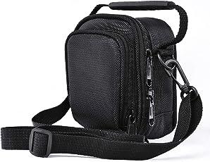 FOSOTO 相机包 肩包 适用于松下 Lumix DC-ZS70S TZ80 ZS60 ZS50 ZS100 佳能 PowerShot SX730 SX720 G7X Nikon Coolpix A900 S9900 S9700 W100 Olympus TG-5 索尼 RX100 III HX80/B 和摄像机