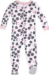 Lamaze 女婴有机长袖弹力睡衣