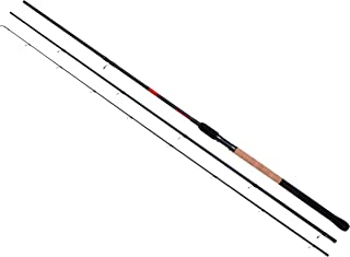 Shakespeare Simga 喂食器组合杆和渔线轮,灰色/红色,12 英尺