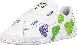 PUMA 彪马 儿童 Basket Glitter Hearts 运动鞋