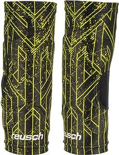 Reusch Supreme 男式护膝套足球保护套,男式,3877506 ,黑色/柠檬绿