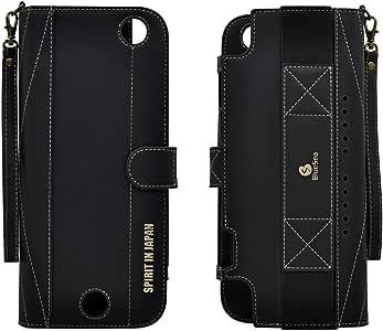 【BlueSea】Nintendo Switch* 收纳箱 皮带 带游戏盒收纳袋3320-001Black 黑色