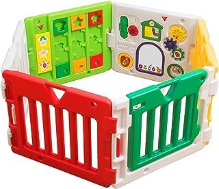 日本育儿  婴儿围栏 馋嘴毛毛虫  Musical Kids Land DX 6个月 ~ 3岁半适用 带毛毛虫玩具的婴儿围栏