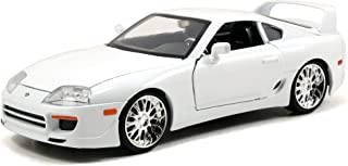 Jada Toys Fast & Furious 1 24 压铸丰田 Supra 汽车 白色