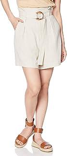 MARKORY DUO 裤子 亚麻高腰短裤 女士