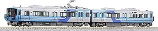 KATO N轨距 IR石川铁道521系 电车 2节车厢套装 铁道模型 古代紫系