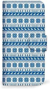 mitas iphone ケース147SC-0099-BU/DM016SH 14_Disney Mobile (DM016SH) 蓝色