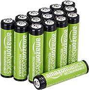 AmazonBasics NiMH 預充電可再充電電池85AAAHCB AAA 16 Pack AAA 16 Pack