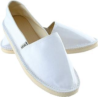 Seac Malaga 帆布鞋 帆布鞋 适用于女士和男士,白色,41