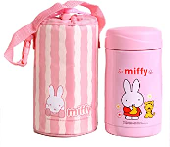 miffy 米菲500ml真空保温瓶附包MF-3305粉色