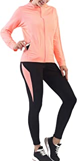 Activewear Sets for Women-Track Leggings Pants Hoodie Jackets 2 Piece Set Tracksuits Yoga Outfit Jogging Workout Set Gymwear