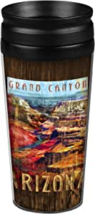 "Boelter Brands ""Arizona Grand Canyon"" Full Wrap Travel Tumbler, 14-ounce"