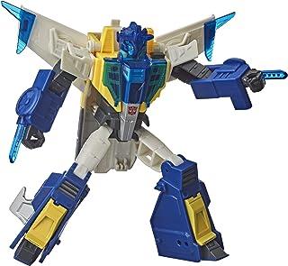 Transformers Meteorfire Cyberverse Adventures 战斗呼叫兵级流星火,语音激活能量灯,6 岁及以上,5.5 英寸
