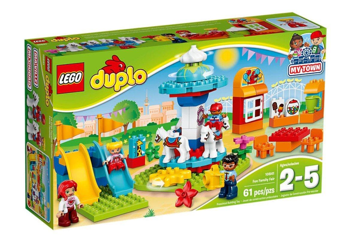 LEGO 乐高 DUPLO 大颗粒得宝系列 10841家庭游乐园