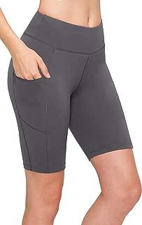 ALWAYS 自行车短裤女式打底裤 - 高腰弹力锻炼瑜伽跑步健身裤