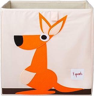 "3Sprouts 收纳盒 Kangaroo 13"" X 13"" X 13"""
