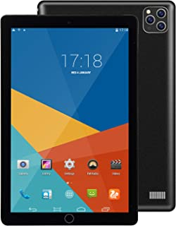 S11 Pro 10.1英寸安卓平板电脑,适用于学习和游戏的4核/WiFi平板电脑,双SIM卡和双待机支持,蓝牙,摄像头,GPS/WPS办公室,IPS高清显示屏,202020发布