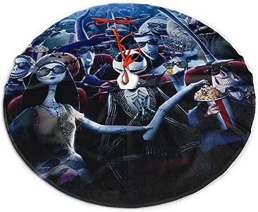 "FriendsComing Nightmare Before 圣诞树裙,新年节日派对装饰,76.20/91.44 厘米。 黑色1 48"" FriendsComing-76927191"