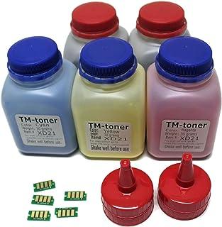 TM-toner 兼容 5 色碳粉补充包,含芯片,适用于 Xerox Phaser 6022 6022 / NI 无线彩色照片打印机,Xerox WorkCentre 6027,6027/NI 106R02759 106R02756 106R02757 106R02758