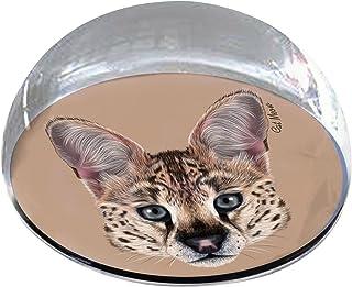 "Forever 水晶""猫头宠物纪念磁贴"
