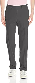 Louis Raphael Men's Golf Flat Front Performance Golf Pant with Comfort Waist