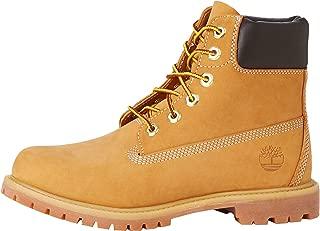 Timberland 女式 6英寸 Premium 防水系带踝靴/短靴