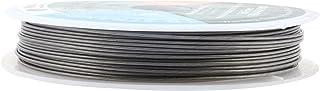 Mandala Crafts 尼龙不锈钢 20 21 22 号 19 根柔软灵活珠宝制作串珠线 0.8MM 65FT Stainless Steel Flexible Beading Wire