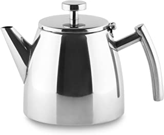 Grunwerg Cafe Ole Double Wall Insulated 20oz Stainless Teapot