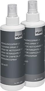 SIGEL MU201 白板清洁泵喷雾,2 x 250 毫升