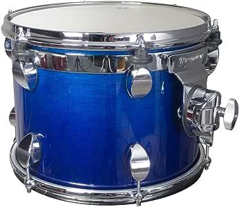 Premier Drums 系列 Elite 2806SPLRHL 1 件枫木 40.64 x 30.48 厘米标准螺旋,鼓套装(麻蓝色)
