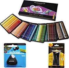Prismacolor 彩色铅笔,150个颜色分类盒,铅笔,橡皮擦,卷笔刀(1800059 + VE99016 + 1774265)