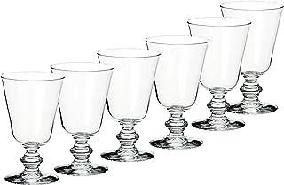 Libbey(Libey) 酒杯 透明 220cc Libbbey(红酒 220cc 6装 LB20 6个套装