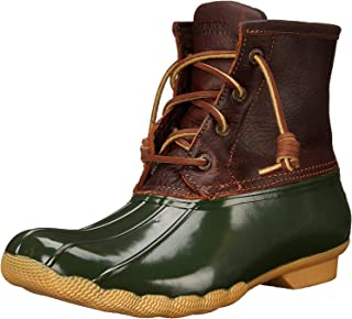 Sperry Top-Sider Saltwater 女士绳踝靴