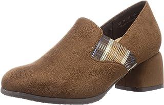 Teen 浅口鞋 TN1754_CAM-S_24 女士 骆驼色绒面革 24.0 cm 2_e