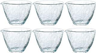 东洋佐佐木玻璃 Carta 日本制造 透明 片口 270ml 6個入 63710