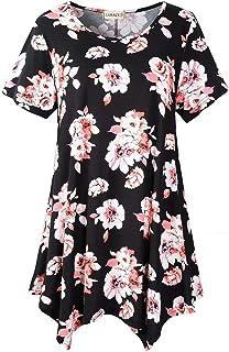 larace 女式大裙摆束腰外衣上衣宽松版型舒适修身 t 恤