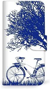 mitas iphone ケース499SC-0213-BU/509SH 37_シンプルスマホ3 (509SH) 蓝色