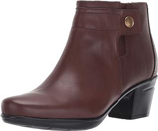 Clarks 其乐 Emslie Jada 女士防水皮革靴及踝靴