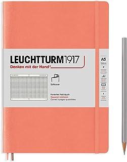 "Leuchtturm1917 笔记本""Bellini"",软封面,A5,方格"