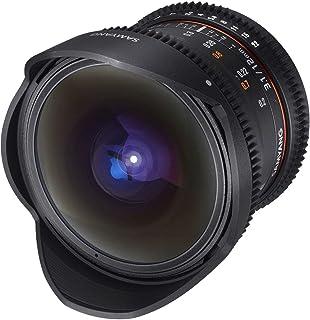 Samyang 12 mm T3.1 Fisheye VDSLR Manual Focus Video Lens for Micro Four-Thirds