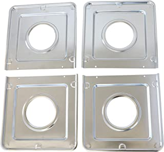 Kitchen Basics 101:4 件装 WB32X90 方形气滴平底锅替换件 适用于 GE AP2028207、PS244863、258331、AH244863、EA244863、PS244863、WB32X0090、WB32X5066...