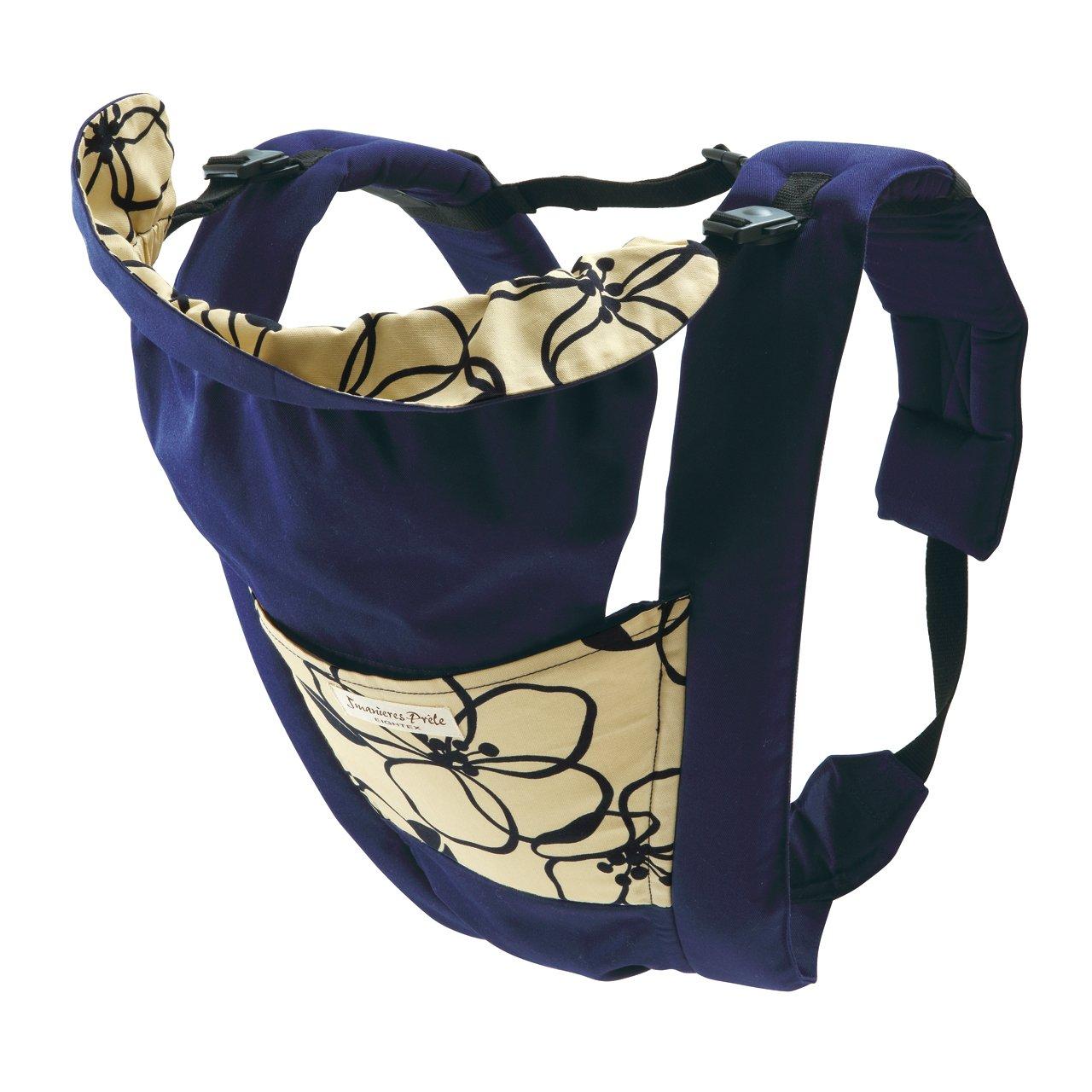 日本 Eightex 儿童背带 (适用年龄:0-3岁) 蓝色花纹